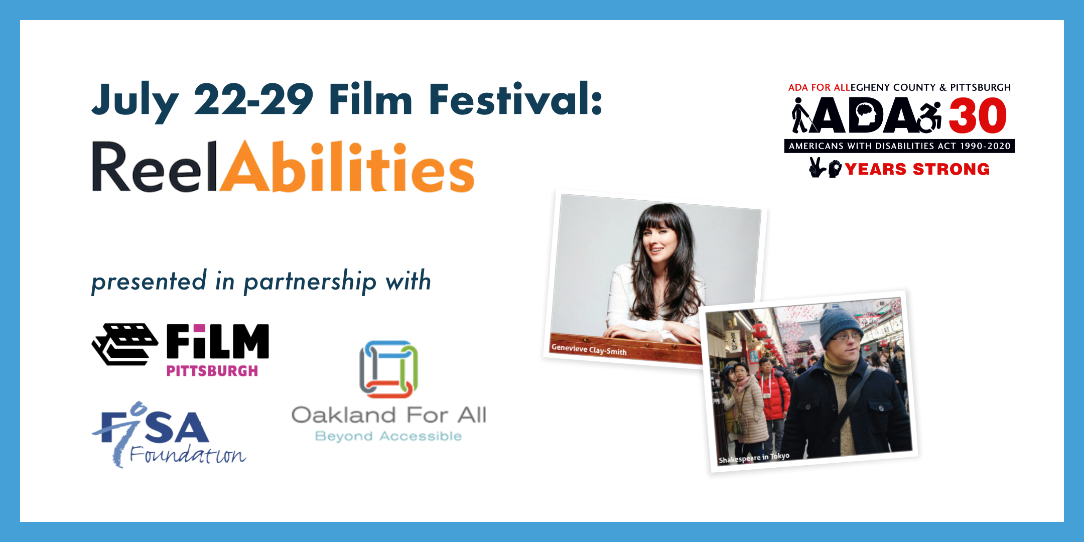 July 22-29 Film Festival: ReelAbilities